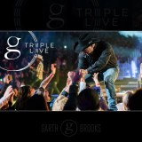 Garth Brooks Triple Live Album Cover