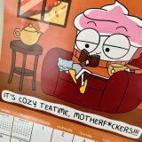 Cupcake Reading a Book