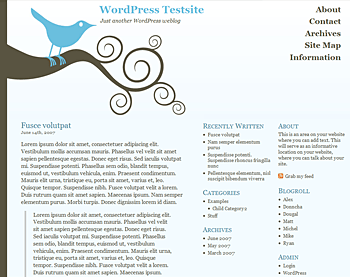 Bluebird WordPress Theme