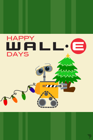Happy WALL-E Days!