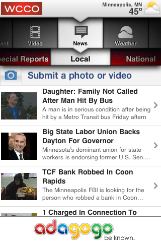 WCCO iPhone App