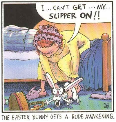 Easter Bunny Slipper