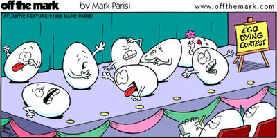 Egg Dying Contest