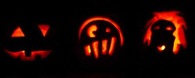 happy halloween come carve a pumpkin