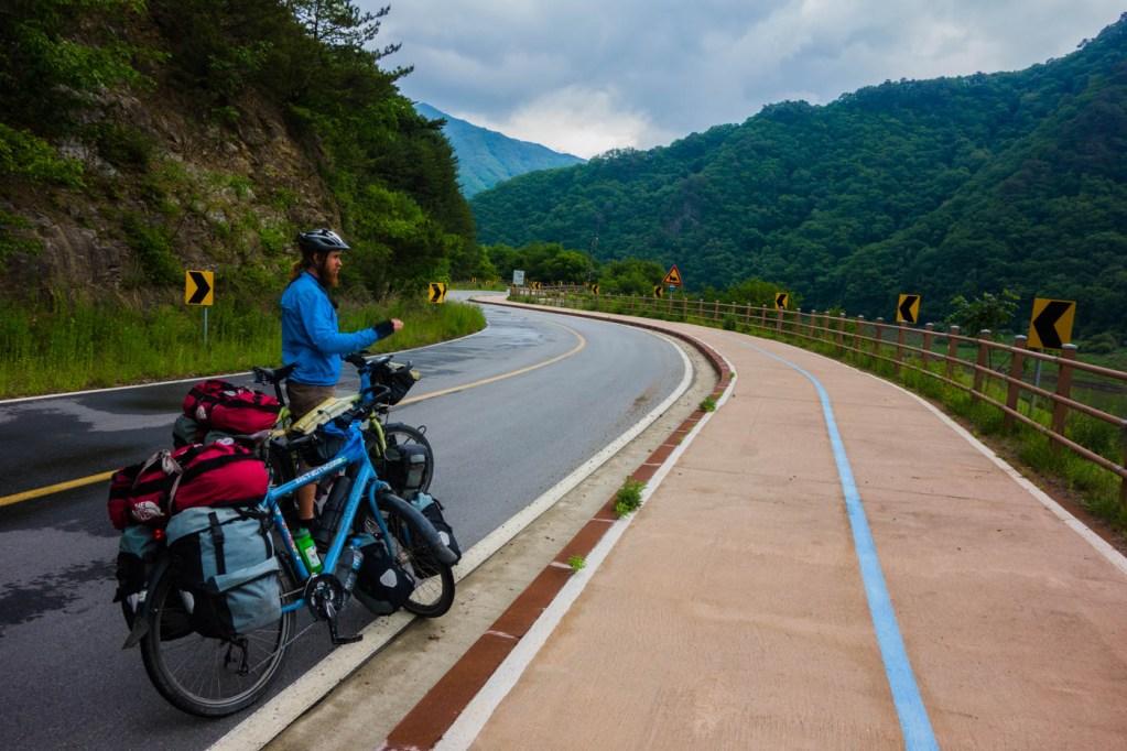 Cycling along the DMZ
