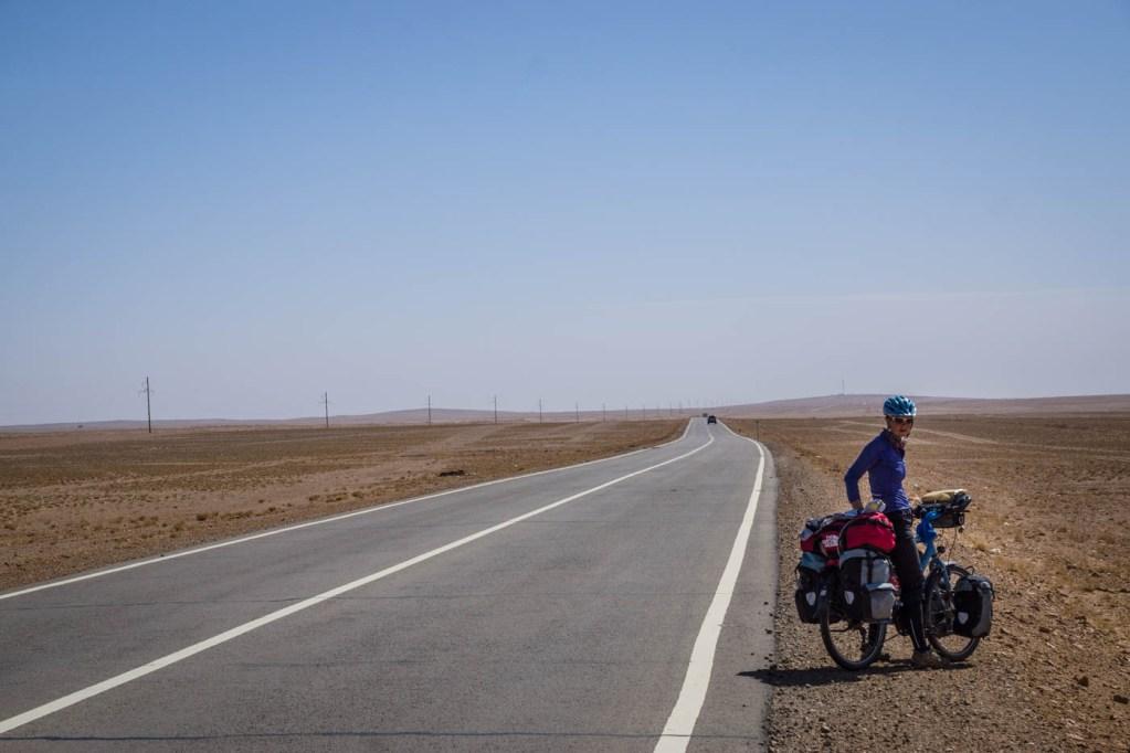 In the Gobi