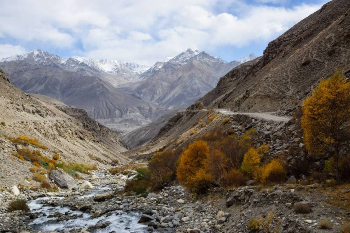 The Wakhan valley with exciting views, roads and people.