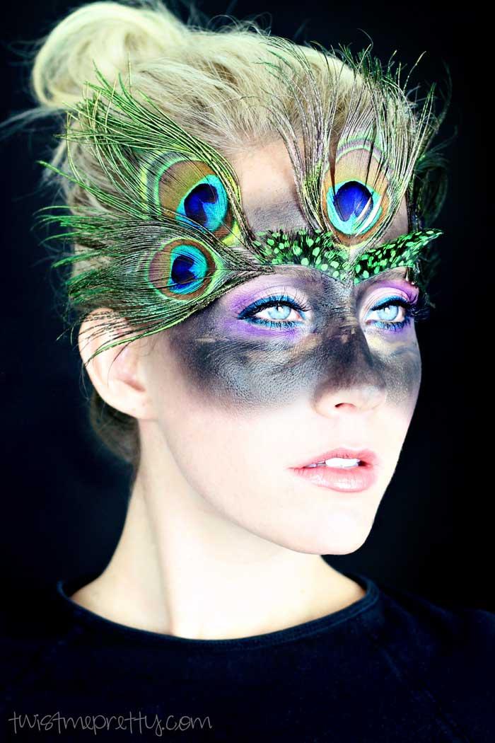 Easy Peacock Makeup Tutorial Twist Me Pretty