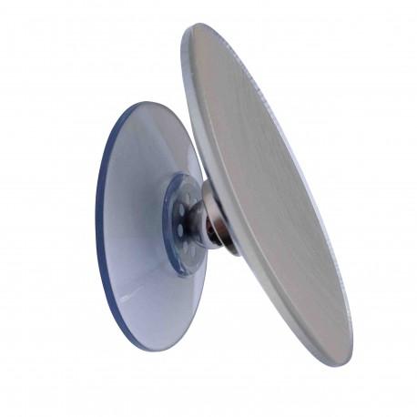 Miroir Grossissant 10x Diametre 11cm Avec Ventouse Magnetique