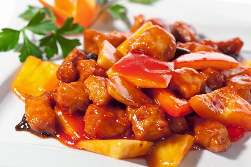 Image result for sweet and sour pork