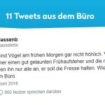 Unterhaltsames Fur Die Kollegen 11 Lustige Tweets Aus Dem Buro Twitterperlen
