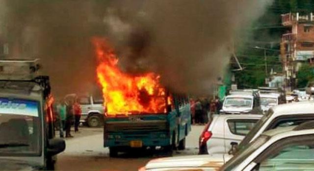 Image result for वाहनों के आपस में टकराने से विस्फोट