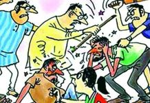 Fighting two group in Rudrapur