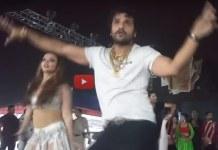 Khesari lal yadav Dance with Rakhi sawant