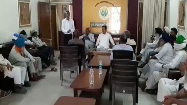 Farmer meeting regarding Bharat bandh