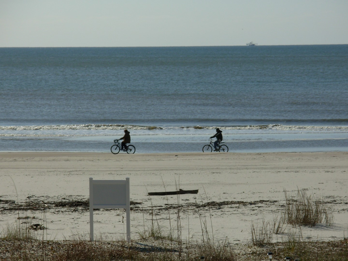 Bike Riding on Beach