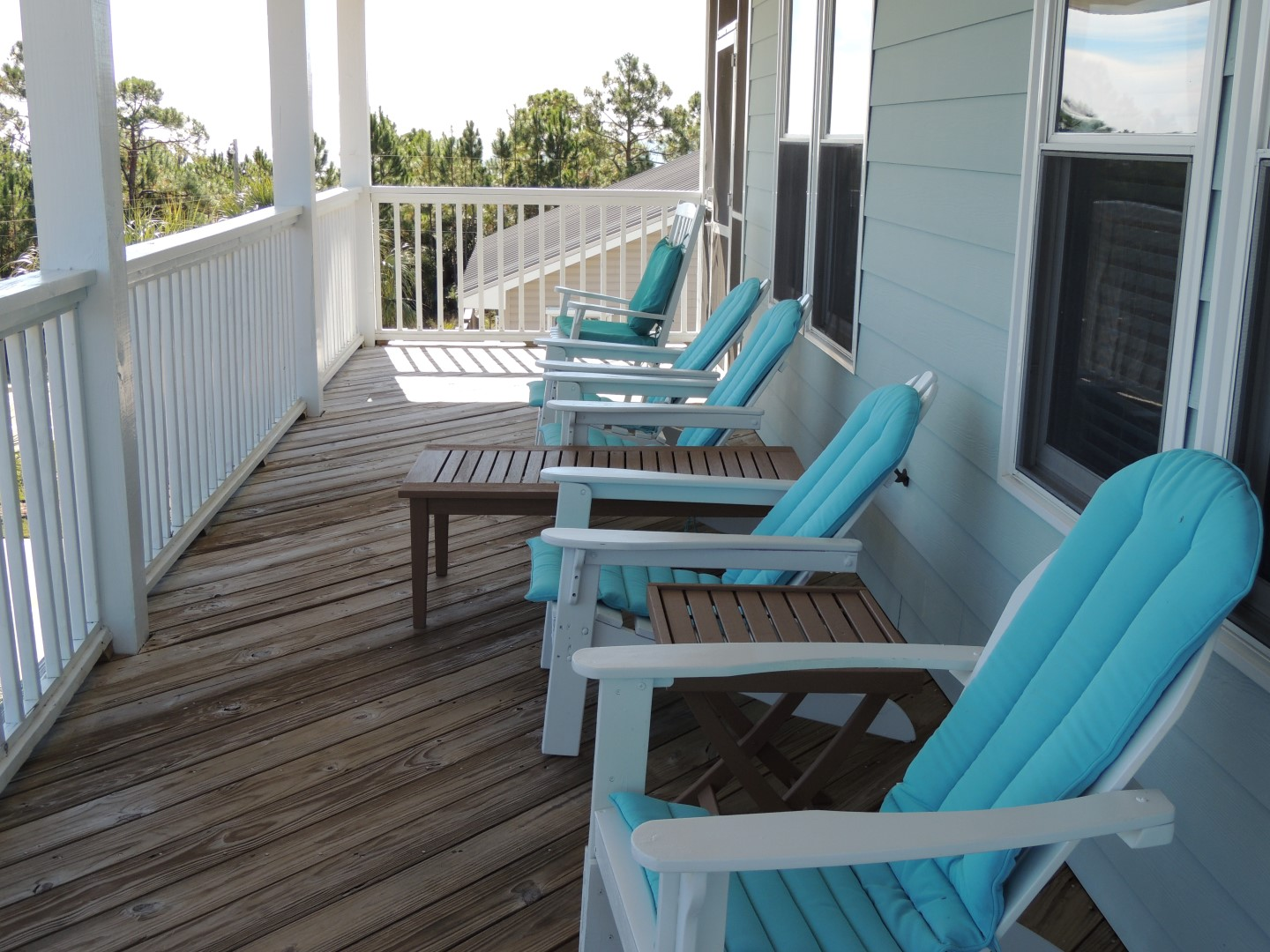 Three Palms -Top Floor- Deck- Unobstructed View of Beach and Gulf of Mexico-10