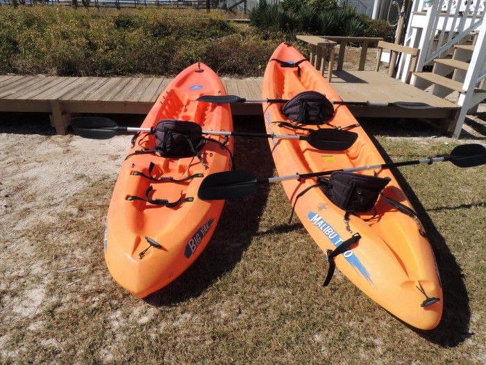 Two Ocean Going Kayaks for Use