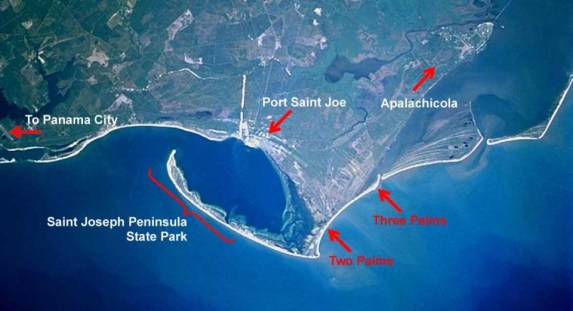Cape San Blas Pet Freindly Satellite Photos