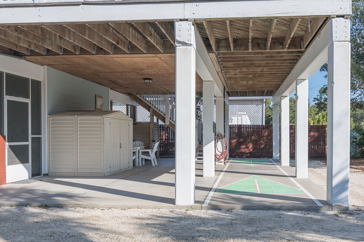 Spacious Carport Area