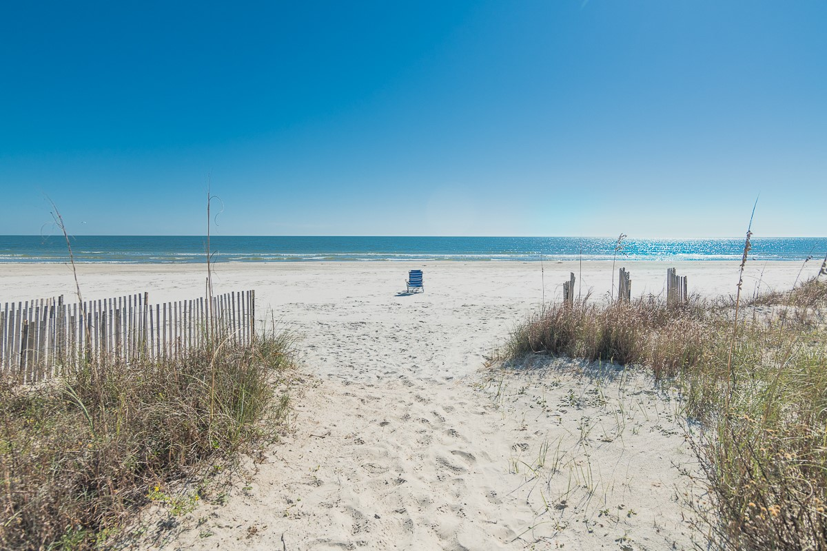 Two Palms Beach at end of Boardwalk jpg