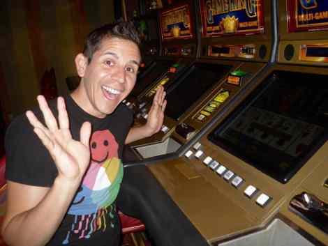 Casino on Atlantis gay cruise ship