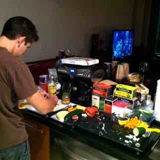 Cooking for our CS host