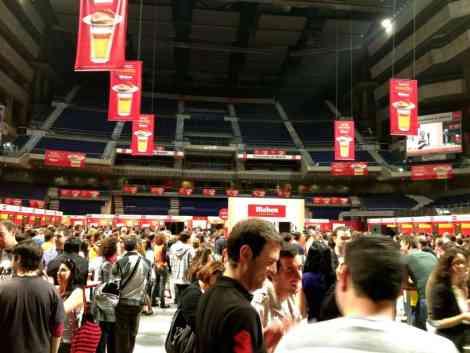Feria de la Tapa Inside Palacio de los Deportes