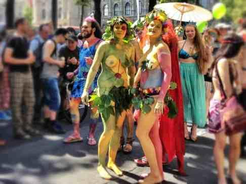 Members of the Rainbow Parade