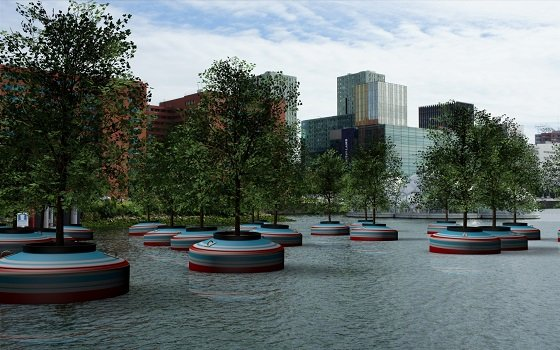 Bobbing Forest Concept in Rotterdam