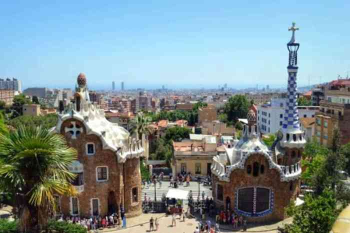 Park Guell Barcelona Gay Travel Guide