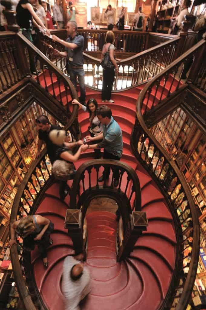 Livraria Lello Bookstore, Photo Credit: Porto Convention and Visitors Bureau CC BY-NC-ND - Associação de Turismo do Porto e Norte, AR