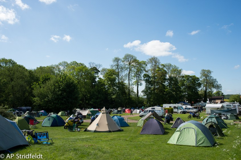 Camping at HUBB UK