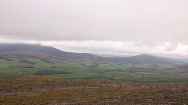 View from Corryhabbie Saddle
