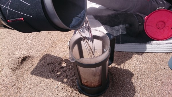 Beach Coffee May 2016