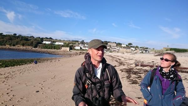 Darren Heart and Nikki Banfield - Walk Scilly, Wildlife of St Mary's