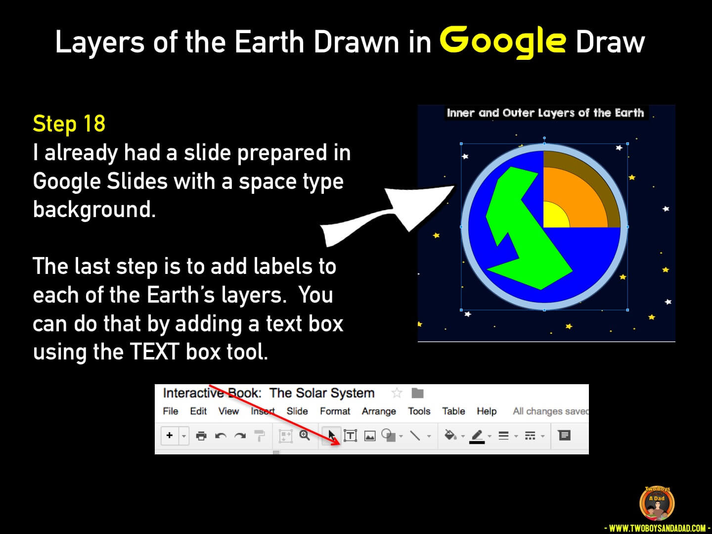 Use Google Draw in the classroom Step 18