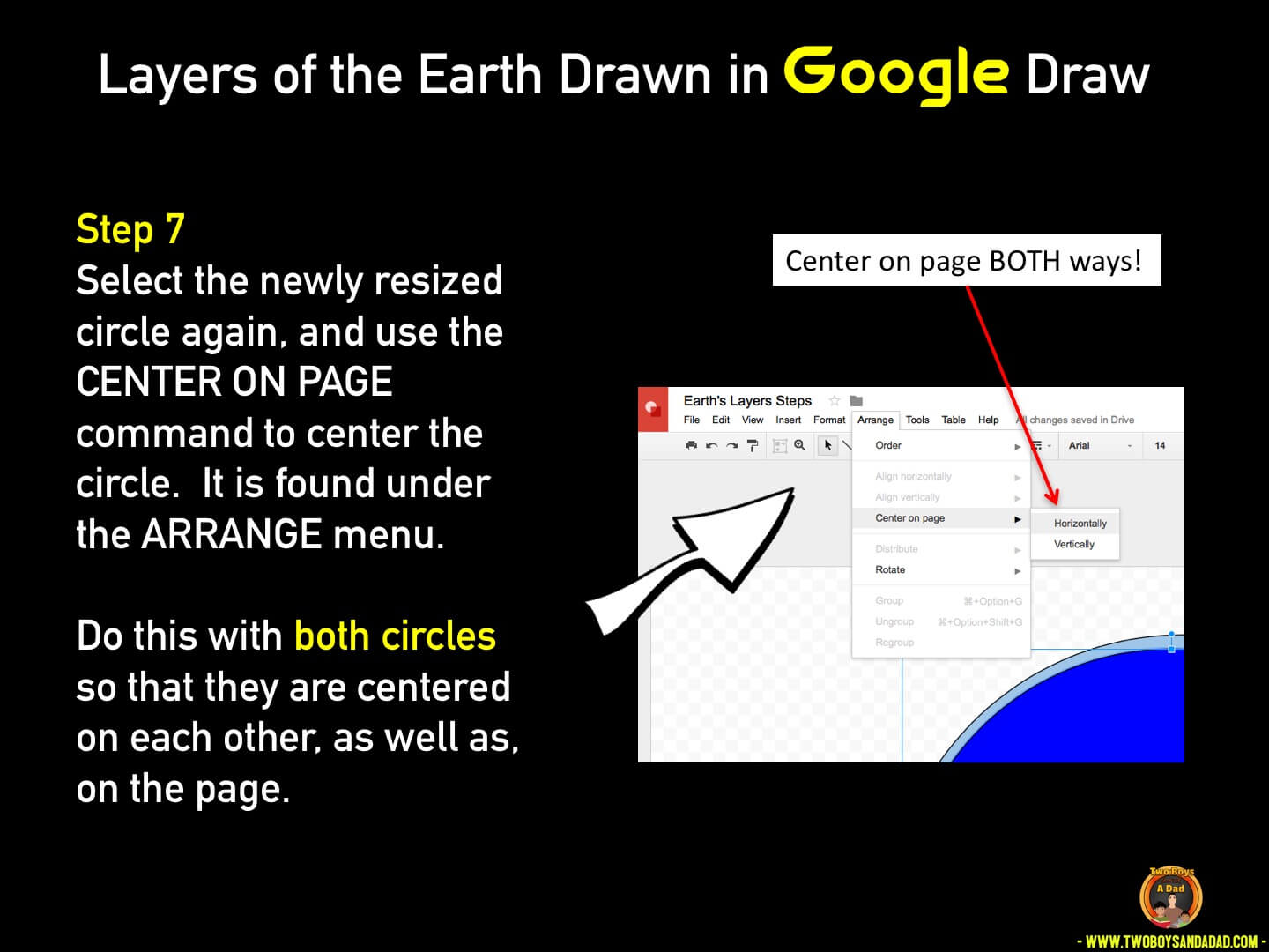 Use Google Draw in the classroom Step 7