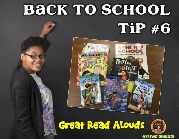 Back to School Tips Read Alouds