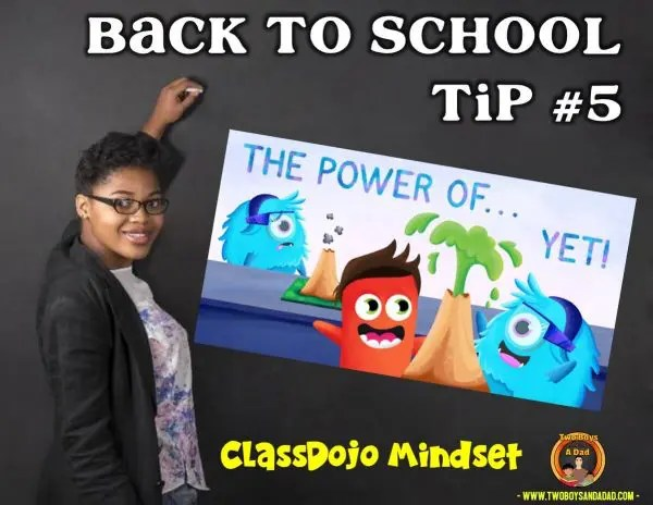 Back to School Tip Growth Mindset