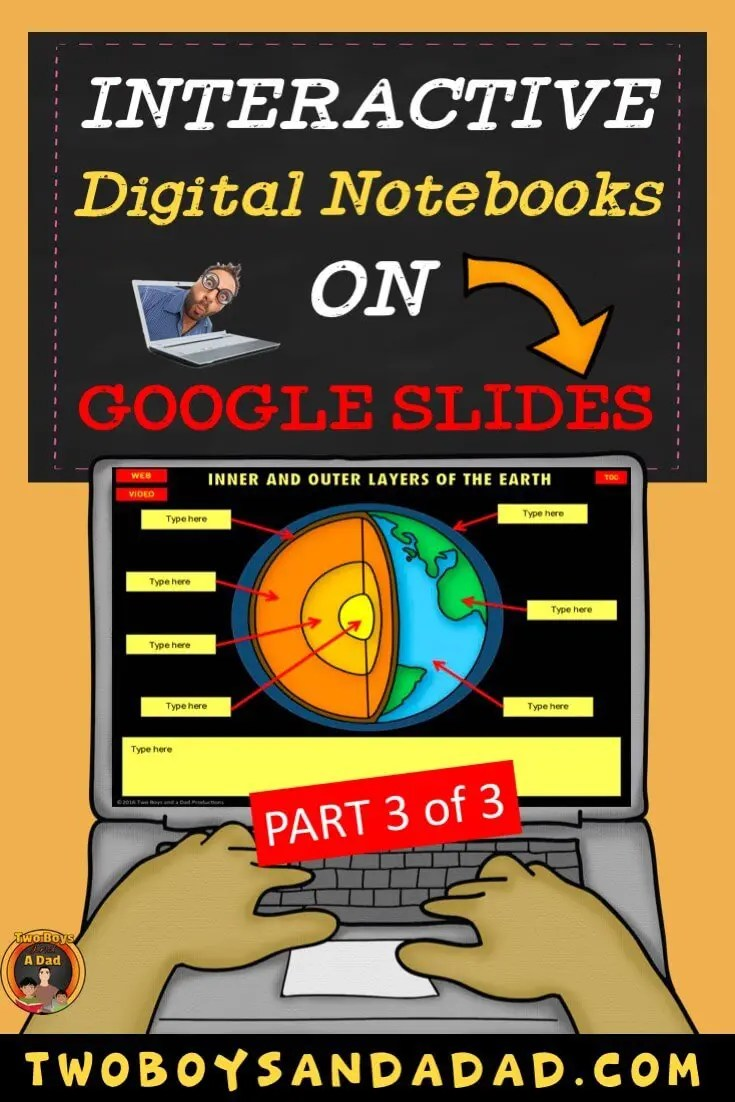 Using a Digital Notebook on Google Slides