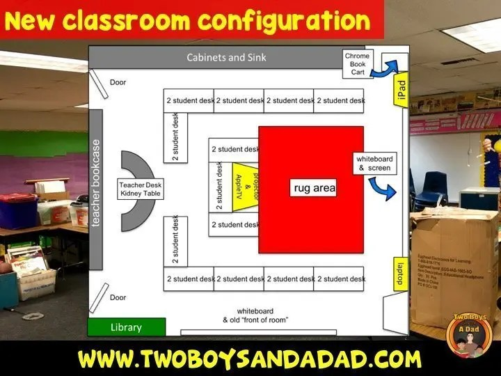 classroom configuration map