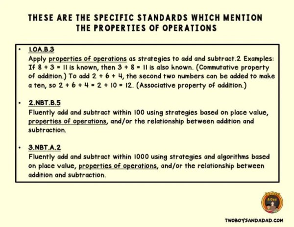 Common Core State Standards for Math