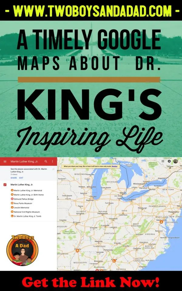 Using Google Maps in the classroom can enhance any Social Studies unit. I used it to recreate the amazing life of Dr. Martin Luther King, Jr.  Students visited important sites in his life and watched videos of historical events.  Click to download the link to the Google Maps for your students! #googlemaps #google #socialstudies #elementary #thirdgrade #3rdgrade #chromebooks #technology