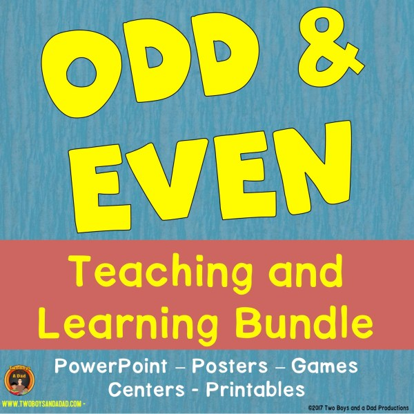 Odd and Even Teaching and Learning Bundle