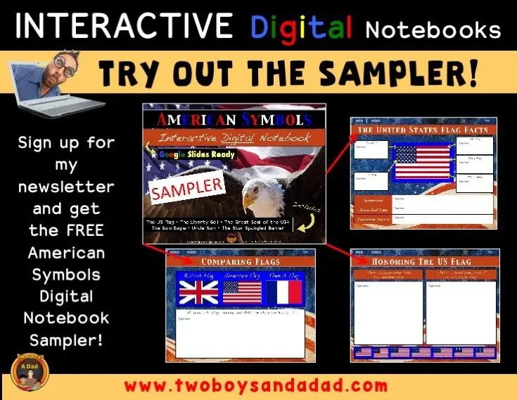 Try out a sampler digital notebook