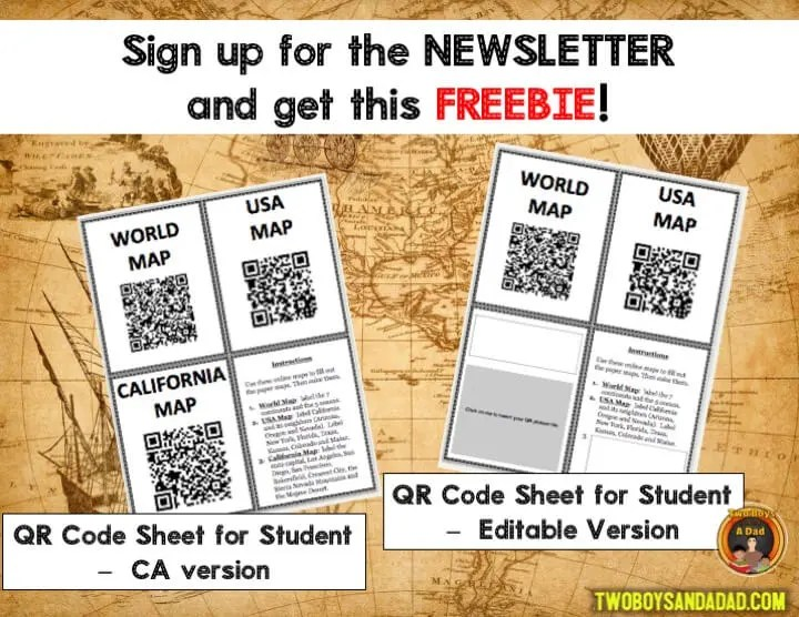 Sign up for a FREEBIE QR Codes