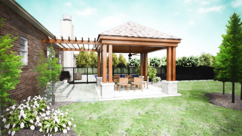 Covered Patio Company Dayton - Patio Cover Designs ... on Backyard Porch Ideas id=63754