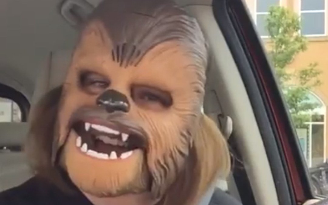 Daily Dose Of Greatness – Chewbacca Mask Hysteria