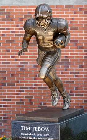tebowstatue